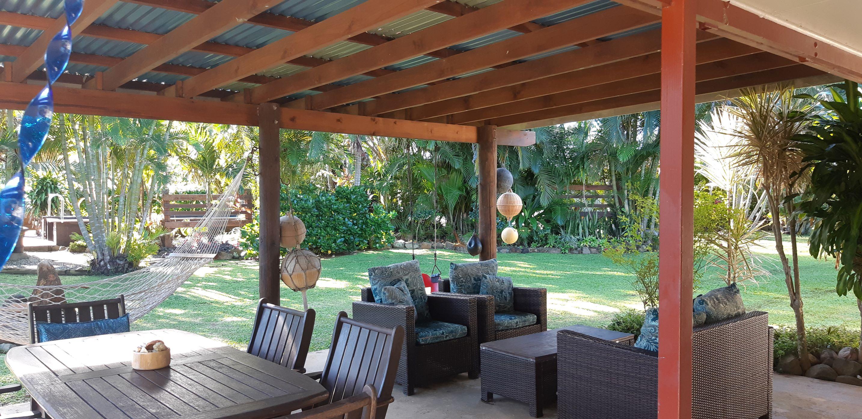 Villa 2 Entertaining Area